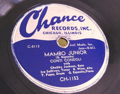Conti Condoli - Mambo Junior 78rpm
