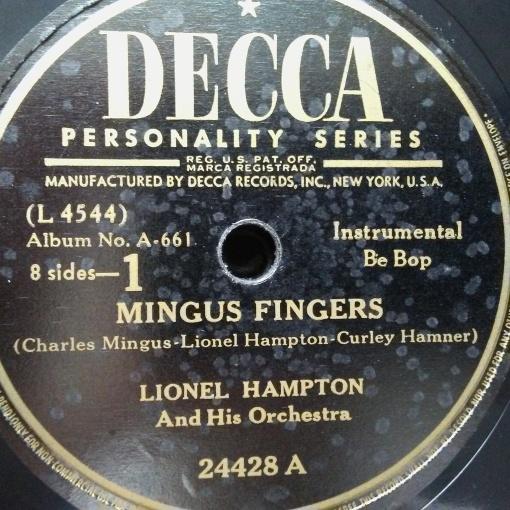 Lionel Hampton - Mingus Fingers