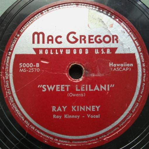 Ray Kinney - Sweet Leilani